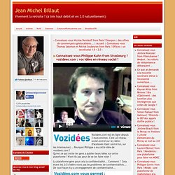 vous Philippe Kuhn from Strasbourg ? vozidees.com : vos idées en réseau social !