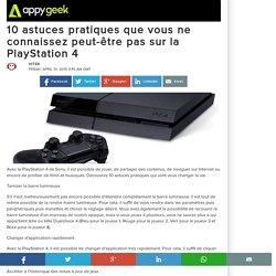 10 astuces pratiques que vous ne connaissez peut-être pas sur la PlayStation 4