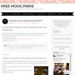 0517 Connaissez vous le Tripadvisor des MOOC ?