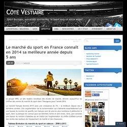 Le marché du sport en France connaît en 2014 sa meilleure année depuis 5 ans