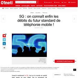 5G : on connaît enfin les débits du futur standard de téléphonie mobile !