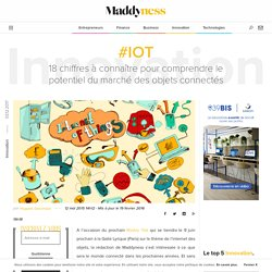#IoT : 18 chiffres à connaître pour comprendre le potentiel du marché des objets connectés - Maddyness