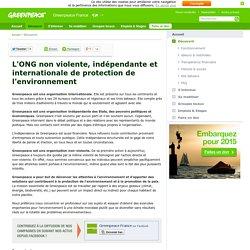 Connaître Greenpeace