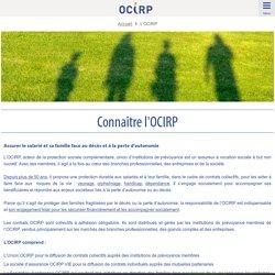 Connaître l'OCIRP