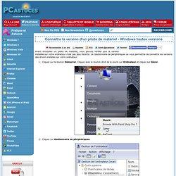 Connaître la version d'un pilote de matériel - Windows toutes versions