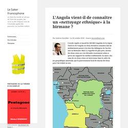 L'Angola vient-il de connaître un «nettoyage ethnique» à la birmane ?