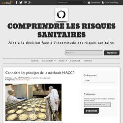 Connaître les principes de la méthode HACCP