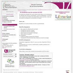 Connaître les services du SCD et la recherche sur Internet