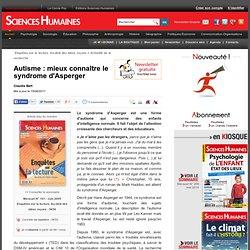 Mieux connaître le syndrome d'Asperger