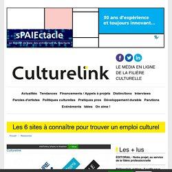 Les 6 sites à connaître pour trouver un emploi culturel