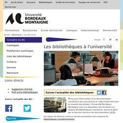 BU Bordeaux Montaigne
