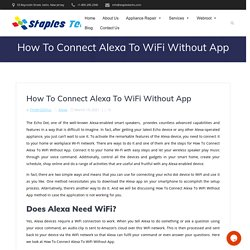 How to connect an Amazon Echo to Wi-Fi using the Alexa app