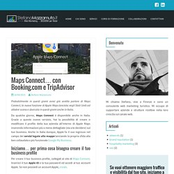 Maps Connect... con Booking.com e TripAdvisor