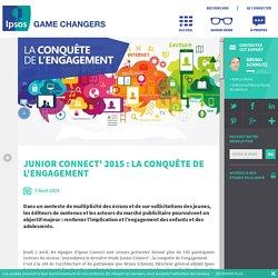 Junior Connect' 2015 : la conquête de l'engagement