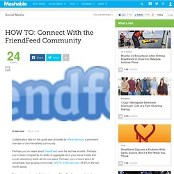 HOW TO: Connect With the FriendFeed Community