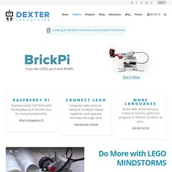 Introduction ← BrickPi