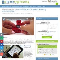Collegare i punti: disegno isometrico e piani codificati - Attività