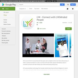 LYK - Connect with LYKMinded People – Apps on Google Play