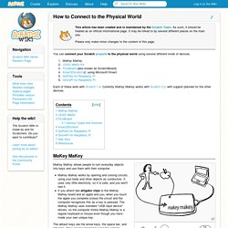 How to Connect to the Physical World - Scratch Wiki