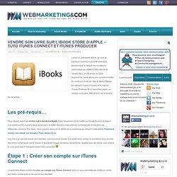 publier un ebook sur itunes