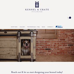 Connect With Us For Wooden Dog Kennels