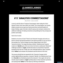 #11 'Analysis Connectagons'