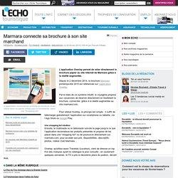 Marmara connecte sa brochure à son site marchand - L'Echo Touristique