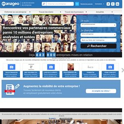 Bilan entreprise et information entreprise - Manageo.fr