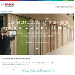 BOSCH Connected Building