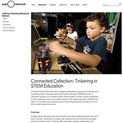 Connected Collection: Tinkering in STEM Education