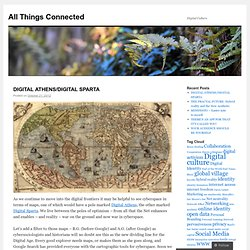 All Things Connected | Digital Culture