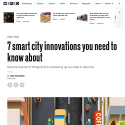 nnected bus stops to smat bicycles: the smart city start-ups you need to know
