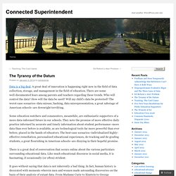 Connected Superintendent