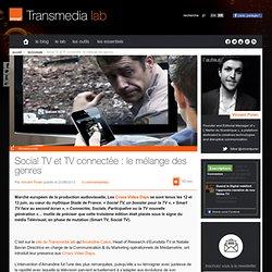 Social TV et TV connectée : le mélange des genres