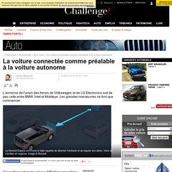 La voiture connectée comme préalable à la voiture autonome