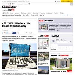 """Martine Aubry : """"Nous sommes décidés à abroger Hadopi"""""""