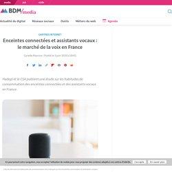 Enceintes connectées et assistants vocaux : le marché de la voix en France