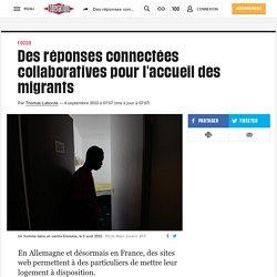 Des réponses connectées collaboratives pour l'accueil des migrants