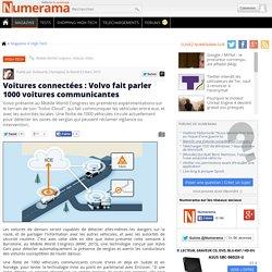 Voitures connectées : Volvo fait parler 1000 voitures communicantes