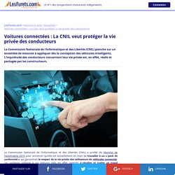 Voitures connectées : Protéger la vie privée des conducteurs