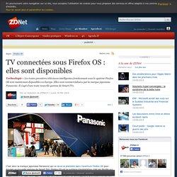 TV connectées sous Firefox OS : elles sont disponibles