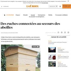 Des ruches connectées au secours des abeilles - La Croix