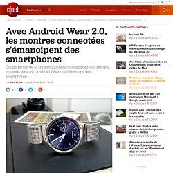 Avec Android Wear 2.0, les montres connectées s'émancipent des smartphones