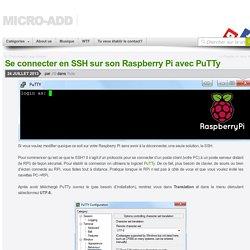 Se connecter en SSH sur son Raspberry Pi avec PuTTy