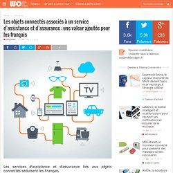 Les objets connectés associés à un service d'assistance et d'assurance: une valeur ajoutée pour les français