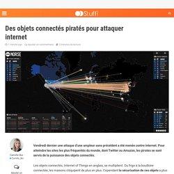 Des objets connectés piratés pour attaquer internet