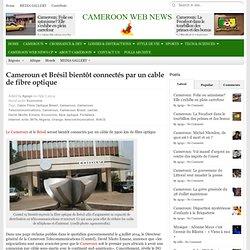 Cameroun et Brésil bientôt connectés par un cable de fibre optique