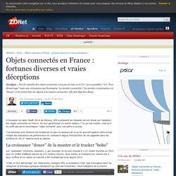 Objets connectés en France : fortunes diverses et vraies déceptions - ZDNet