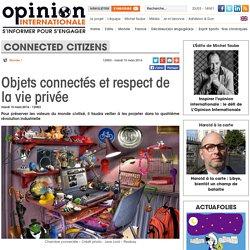 Objets connectés et respect de la vie privée
