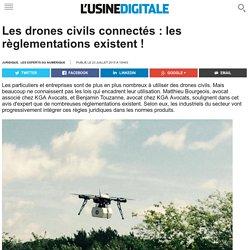 Les drones civils connectés : les règlementations existent !